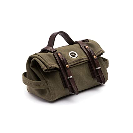 3f13c3be99 Image Unavailable. Image not available for. Color  Saddleback Leather Canvas  Tool Bag ...