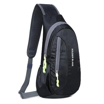 7080197aa9 CATOP Lightweight Shoulder Backpack Sling CrossBody Bag Outdoor Water  Resistant Compact Daypack for Men Women Teenager