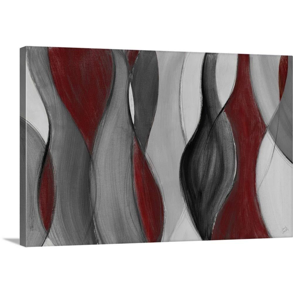 Lanie Lorethプレミアムシックラップキャンバス壁アート印刷題名coalescence 48
