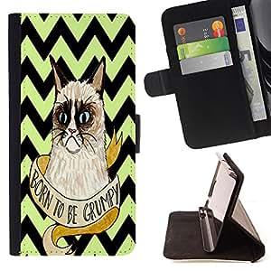 "Dragon Case - FOR Samsung Galaxy S4 Mini i9190 - ""Hold the past too tight - Caja de la carpeta del caso en folio de cuero del tir¨®n de la cubierta protectora Shell"