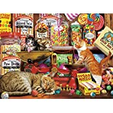 Buffalo Games 17085-Cats Collection-Sweet Shop Kittens-750 Piece Jigsaw Puzzle