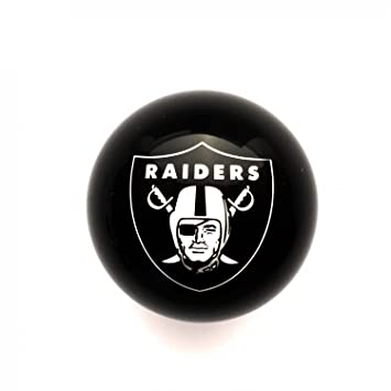 Official NFL Oakland Raiders Licensed Billiard Table Cue Ball