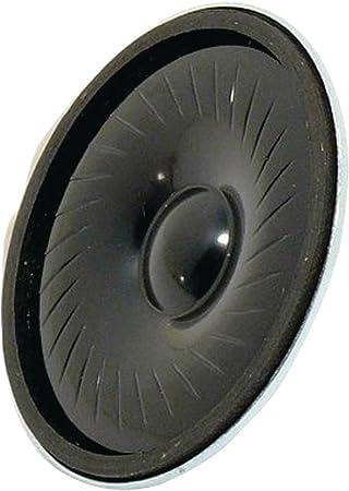 Visaton VS-K50FL-16 - Altavoces (Alámbrico, 1 W, 150-20000 Hz, 16 Ω, Negro)