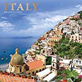 Italy 2019 12 x 12 Inch Monthly Square Wall Calendar with Foil Stamped Cover, Scenic Travel Europe Italian Venice Rome (Multilingual Edition)