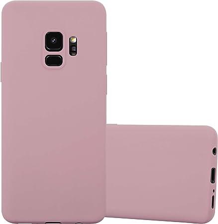 Cadorabo Hülle Für Samsung Galaxy S9 In Candy Rosa Elektronik