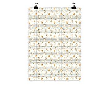 Amazon.com: Póster decorativo para pared de bebé, para ...