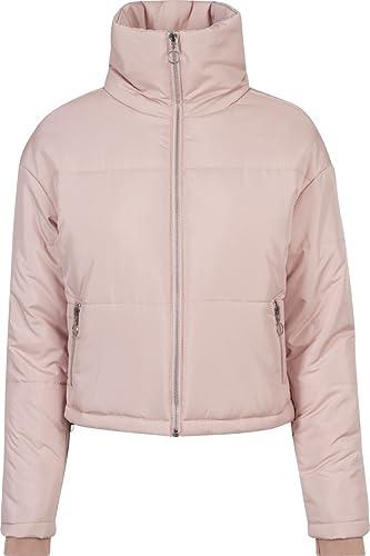 Urban Classics Ladies Oversized High Neck Jacket, Chaqueta para Mujer