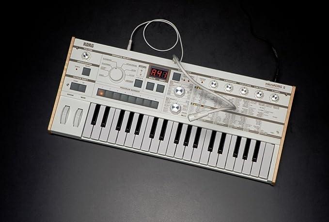 Korg microKORG XL+ - Sintetizador/Vocodificador de 37 teclas con PCM expandido, blanco: Amazon.es: Instrumentos musicales