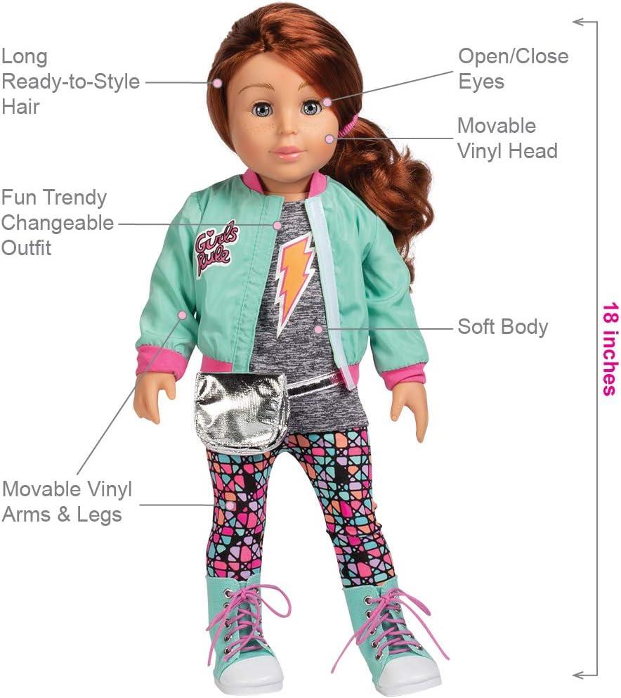 Adora Amazing Girls 18 inch Doll, ''Sam'' (Amazon Exclusive)