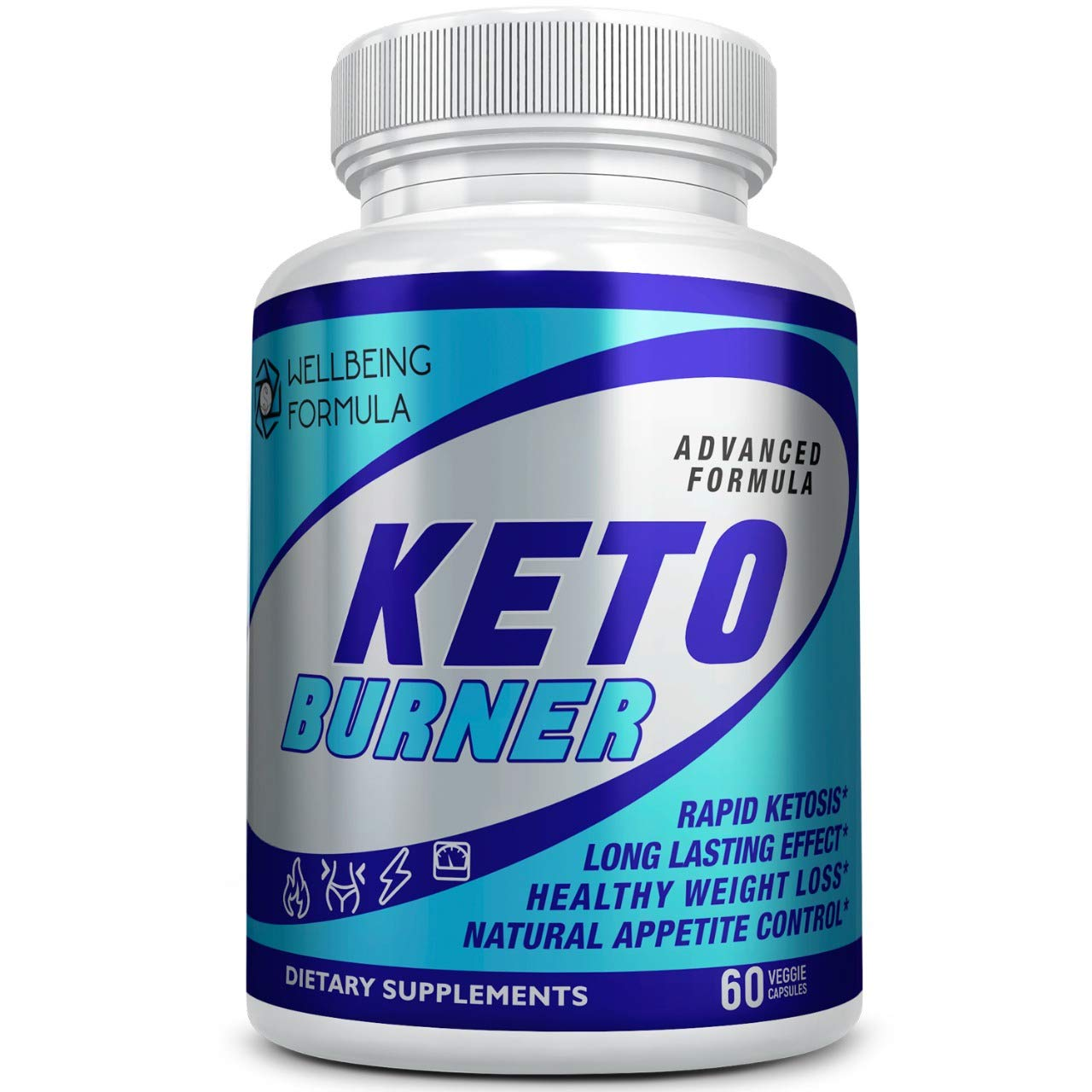 Keto Diet Pills-Natural Exogenous Ketones Supplement-Weight Loss Appetite Suppressant Keto Diet Pills That Work Fast for Women and Men-Perfect Keto Fat Burner-Metabolism Booster for Fast Weight Loss by Wellbeing Formula