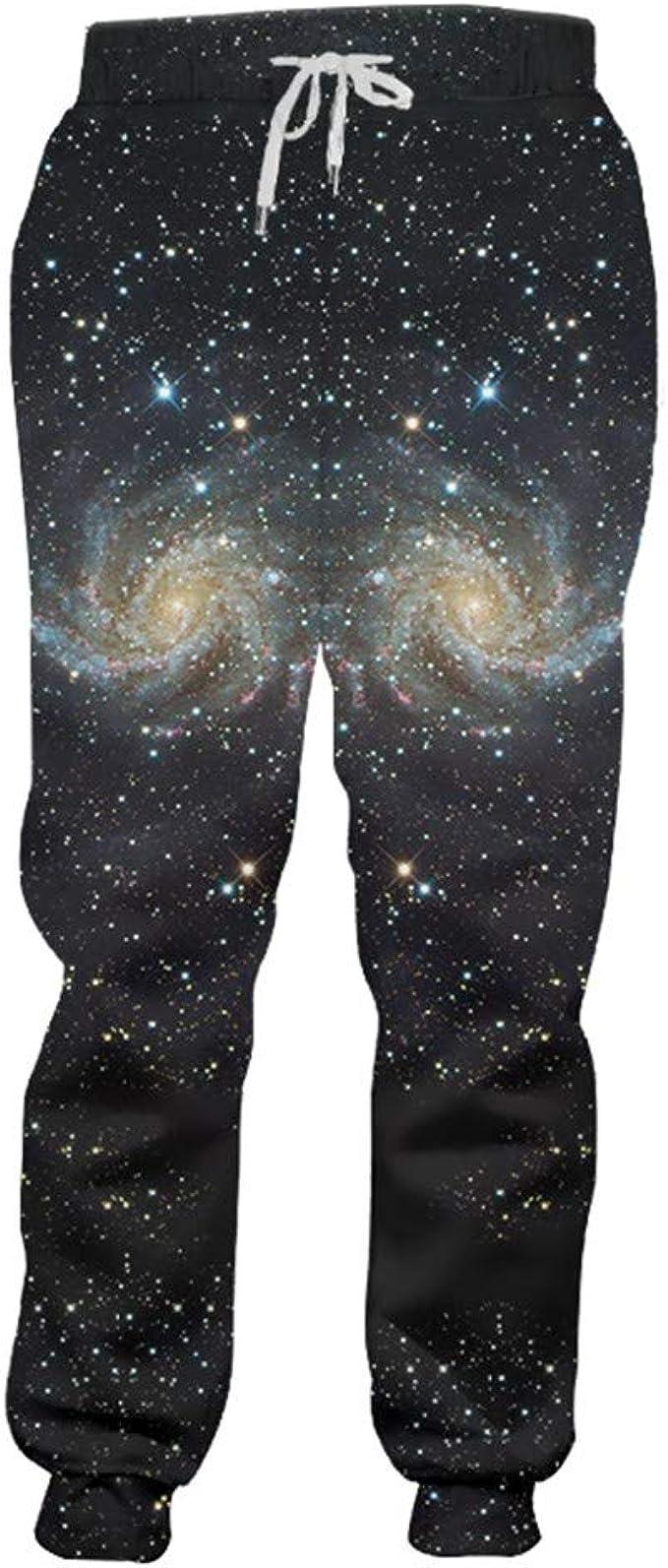 Pantalones chándal Moda Pantalones chándal 3D Impresión gráfica ...