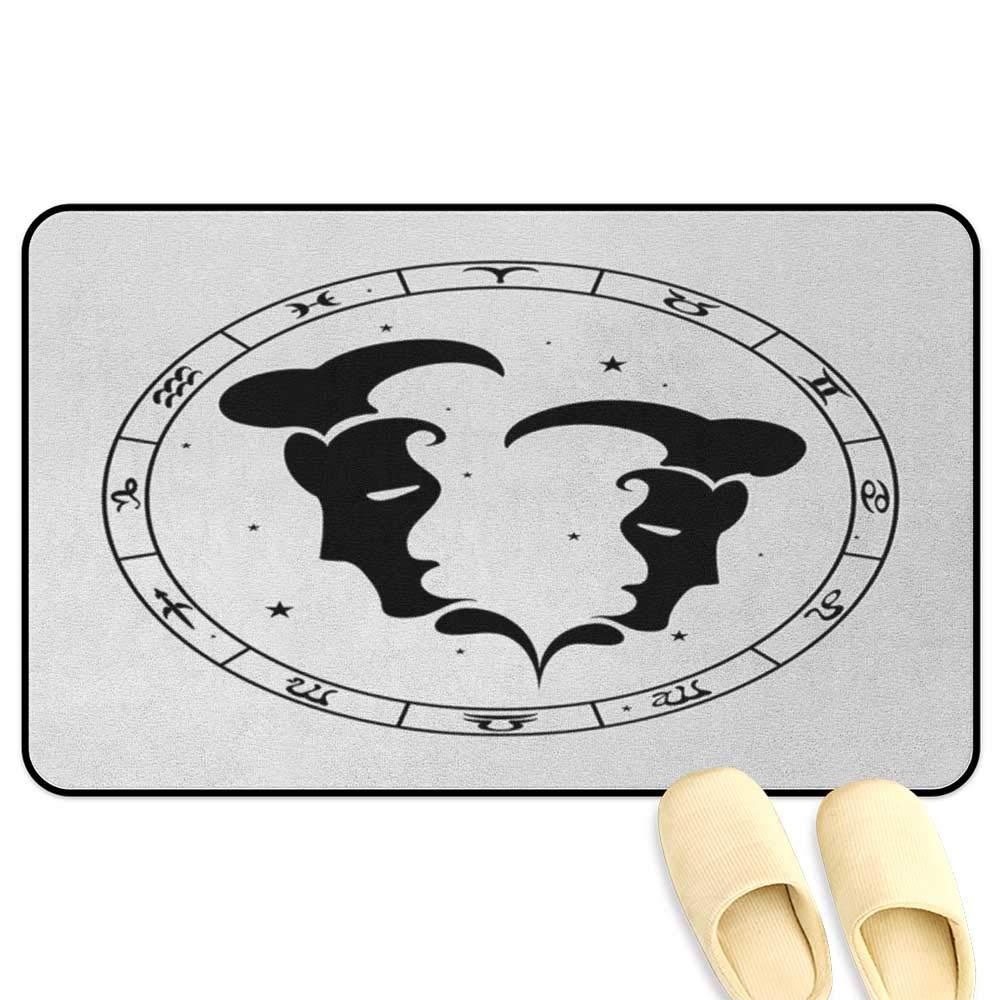 homecoco Zodiac Gemini tapete para Silla de Oficina con 12 Signos ...