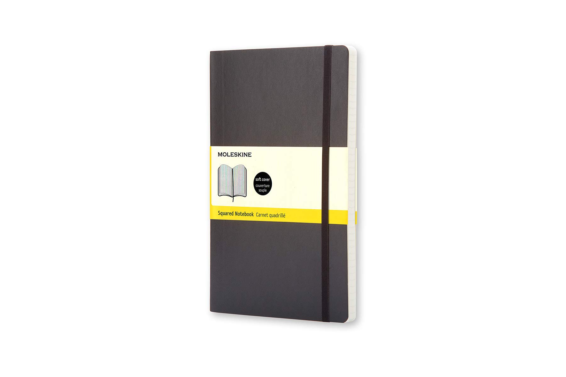 Moleskine Classic Soft Cover Notebook, Squared, Pocke ()