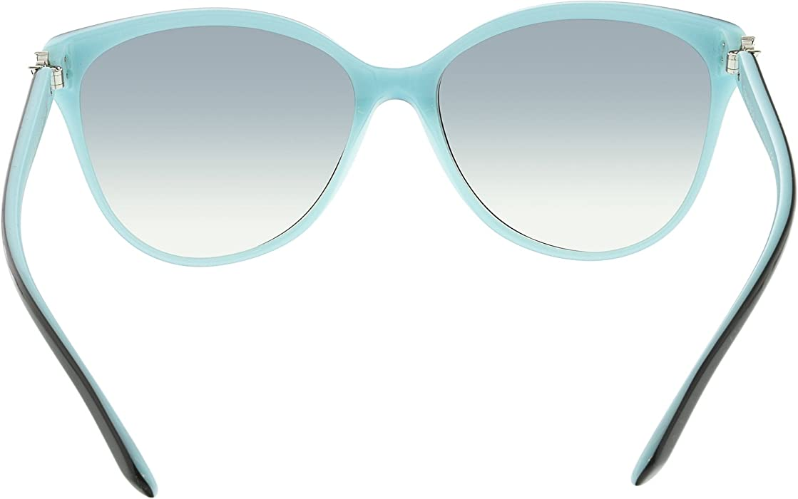0f95a6394d77 Tiffany And Co. Women s Polarized TF4089B-8055T3-58 Blue Butterfly  Sunglasses. Tiffany And Co. Women s Polarized TF4089B-8055T3-58 Blue Butterfly  Sunglasses