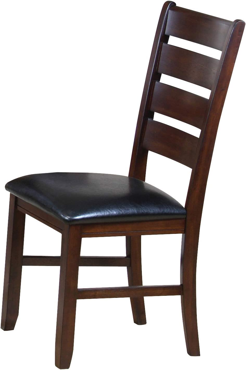 ACME 0 Set of 2 Solid Hardwood Dining Chair, Country Cherry Finish