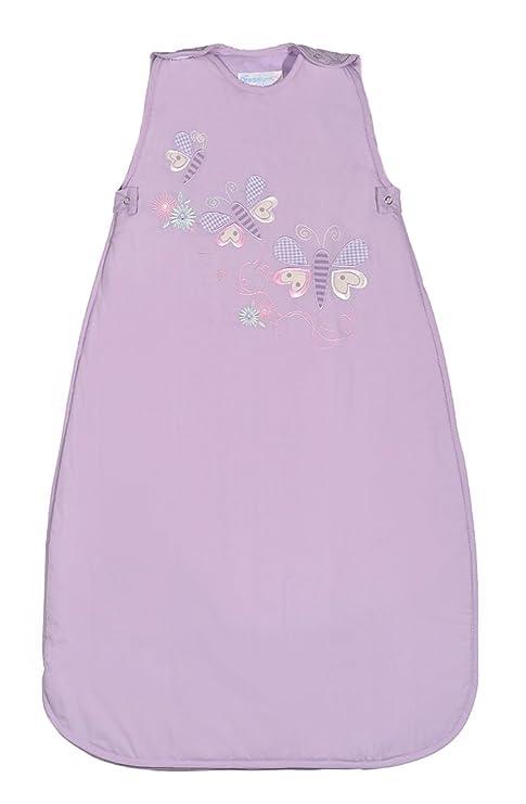 Saco de Dormir Bebé Invierno Dream Bag- 18-36 meses 2.5 Tog Mariposas Lila