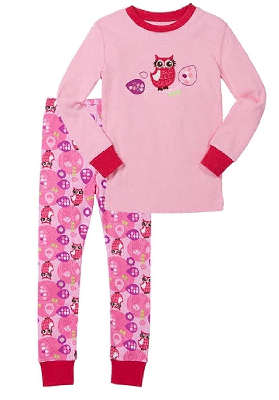 Kirkland Signature Girls 2-Piece Organic Cotton Pajama Set