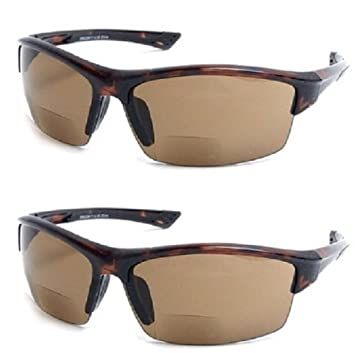 e598f2e82ba 2 Pair The Foster Bifocal Sun Reader Sport and Wrap Around Reading  Sunglasses