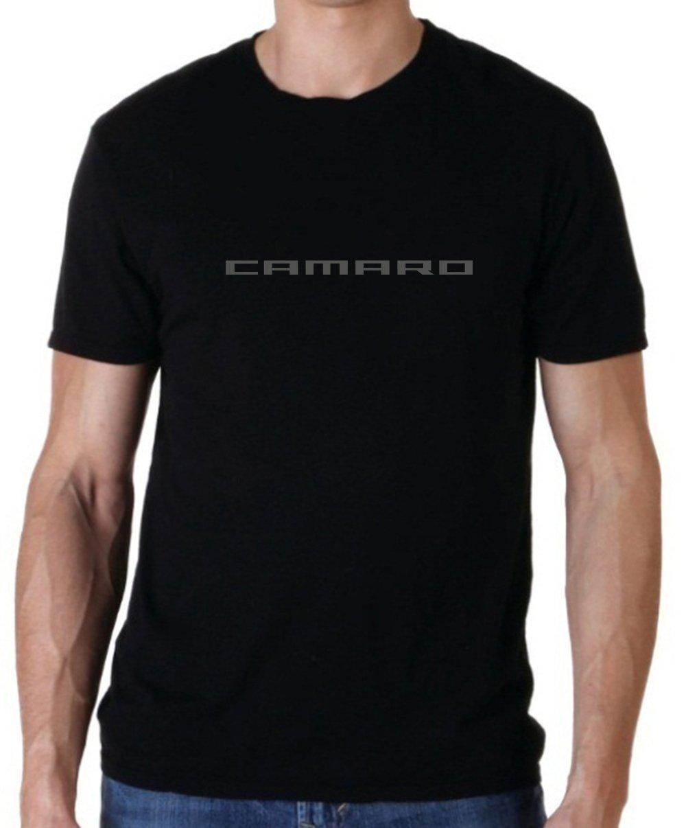 Uzair Chevy Camaro Emblem Hoodie & T-Shirt (Black T-Shirt, Medium)