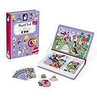 Janod MagnetiBook Princesas, Color púrpura (Juratoys J02725)