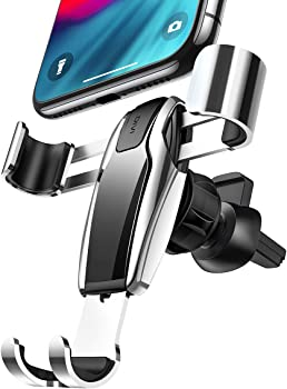 Ainope Auto-Clamping Air Vent Cell Phone Holder (Silver)