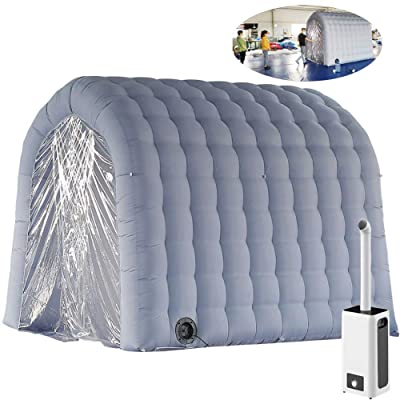 Sayok Inflatable Disinfection Tunnel Inflatable Sterilisation Channel for Entrance of Supermarket/Shop/School/Street/Highway : Garden & Outdoor