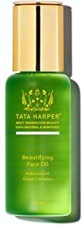 product image for Tata Harper Beautifying Face Oil, Lightweight, Revitalizing, Radiance Restoring Booster, 100% Natural, Made Fresh in Vermont, 30ml