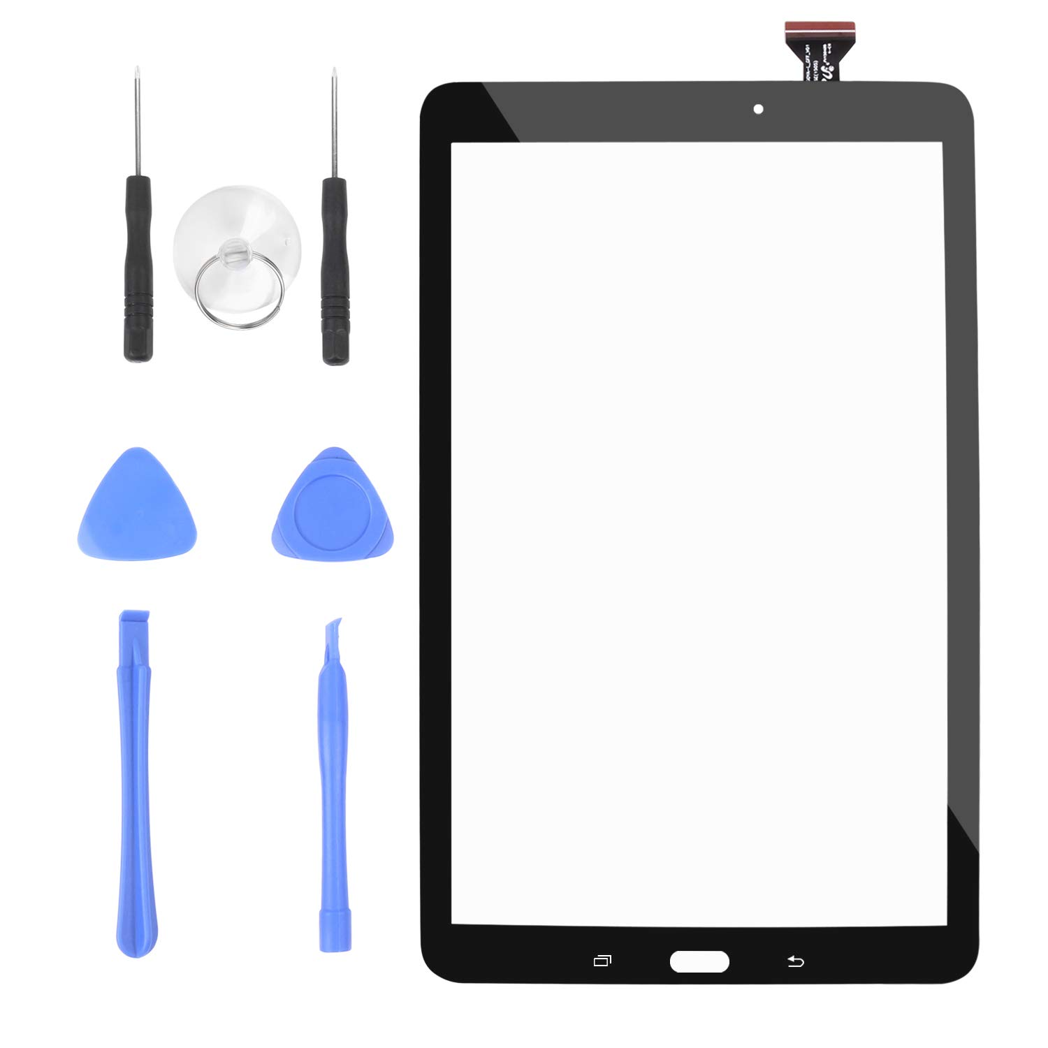 S-Union New Touch Screen Digitizer Replacement for Samsung Galaxy Tab E 9.6 SM-T560 SM-T560NU T567V