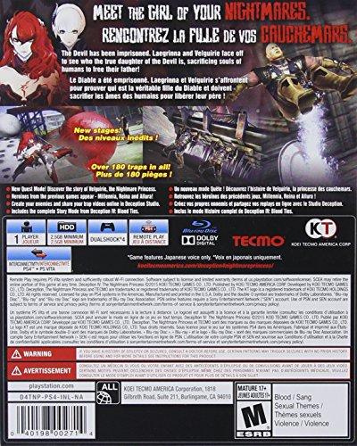 Deception IV: The Nightmare Princess - PlayStation 4