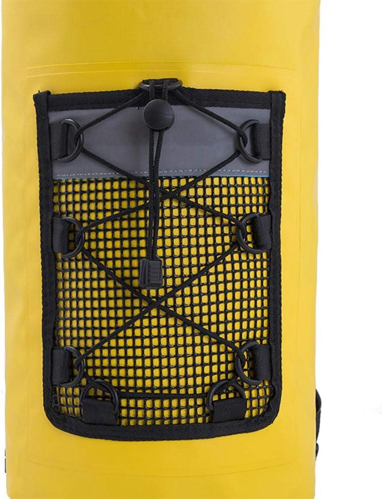 Borsa a secco 20L Impermeabile Outdoor Dry Sack Storage Bag Zaino con Spallacci Regolabile Borsa Per Viaggi Campeggio Vela Rafting Kayak Barca Nuoto