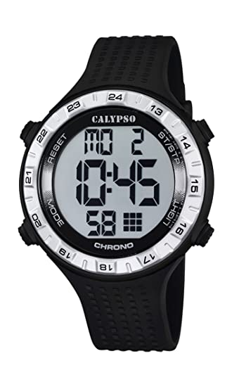 Calypso watches K5663/1 - Reloj de Pulsera Hombre, plástico, Color Negro: Amazon.es: Relojes