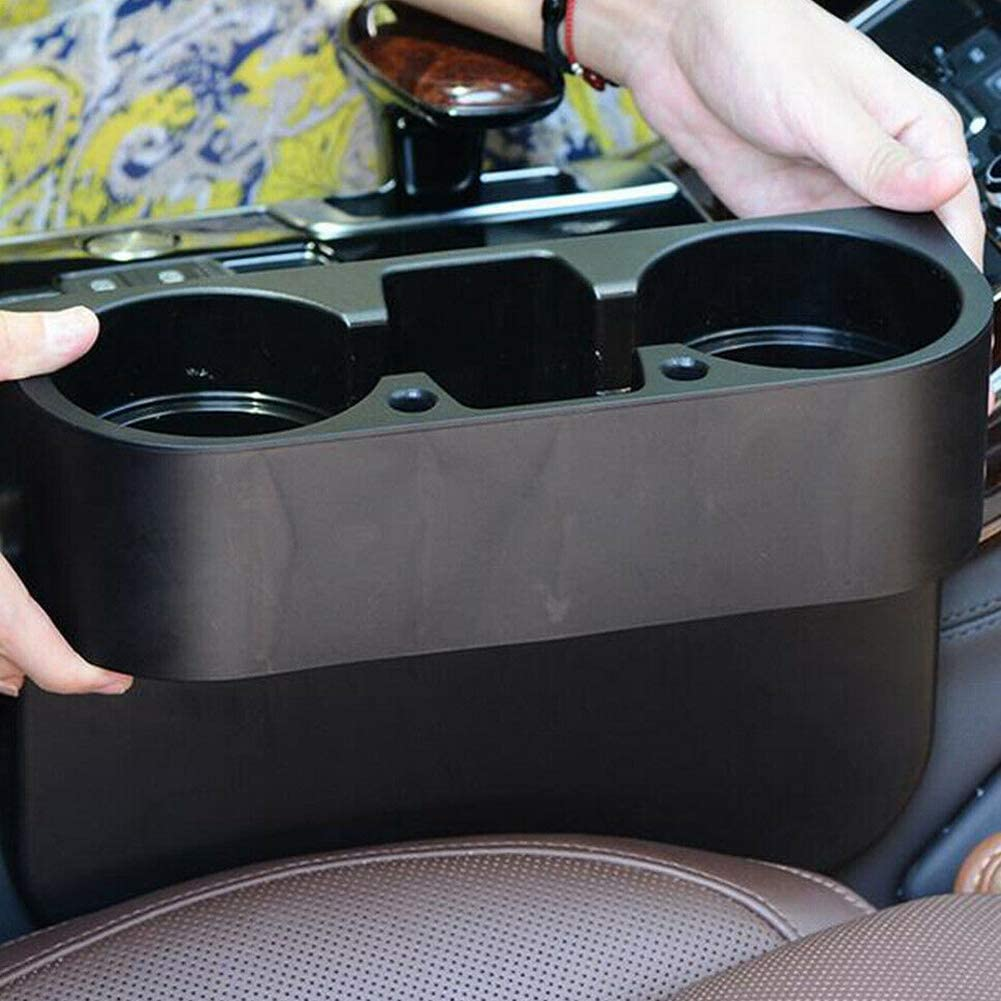 OHOUO Car Seat Seam Wedge Storage Organizer Cup Holder Bottle Drink//Phone Mount Stand