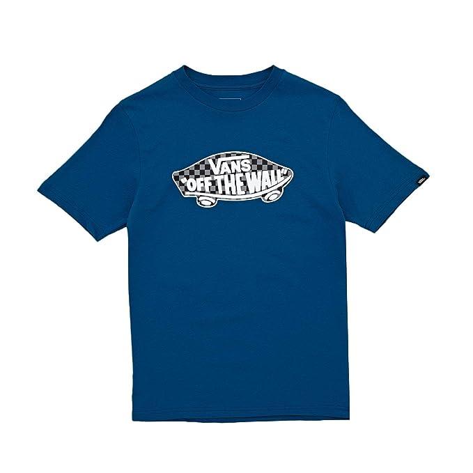 Vans Camiseta Otw Logo Fill Checkerboard Azul/Negro/Gris Talla: 128 a 140 cm Altura - de 8 a 10 años: Amazon.es: Ropa y accesorios