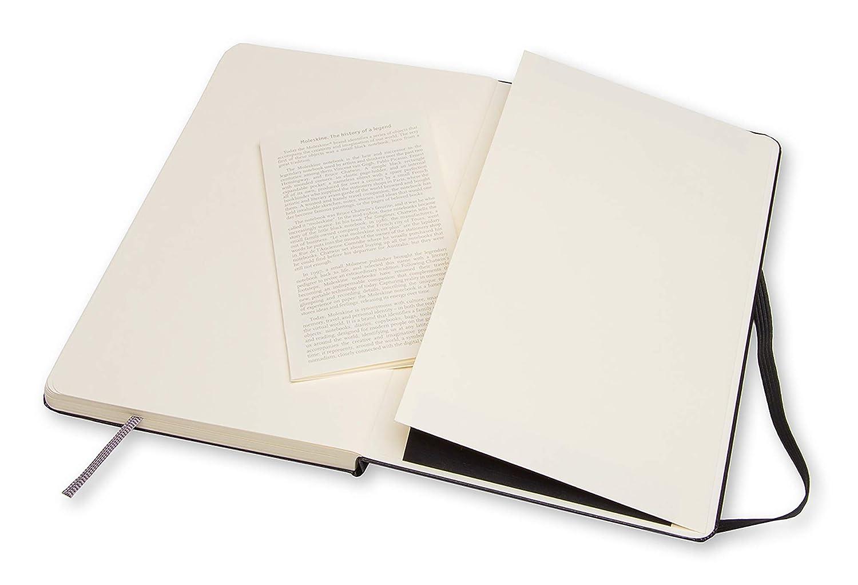 Moleskine Tama/ño M, Tapa Dura Cuaderno De Bocetos Color Negro