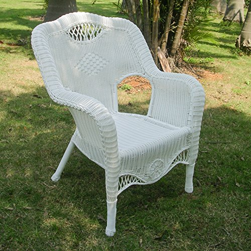 International CaravanInternational Caravan Riviera Resin Wicker/Aluminum Outdoor Dining Chair
