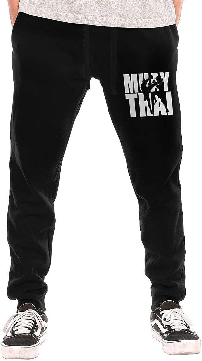 opi 90iuop Pantalones de chándal para Hombre Muay Thai Athletic ...