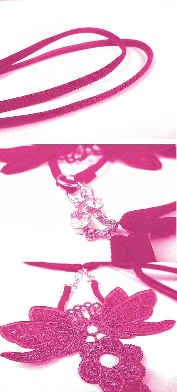 Women Elastic Butterfly Embroidery Low Waist Lingeries Thongs G Strings T Back Penties