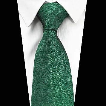 KYDCB Corbata Lisa 8 cm. para Hombre Corbatas sólidas clásicas ...