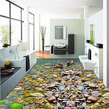 Yuxua 3d Tapete Hintergrundbild Walllpaper Goldfisch Lotus