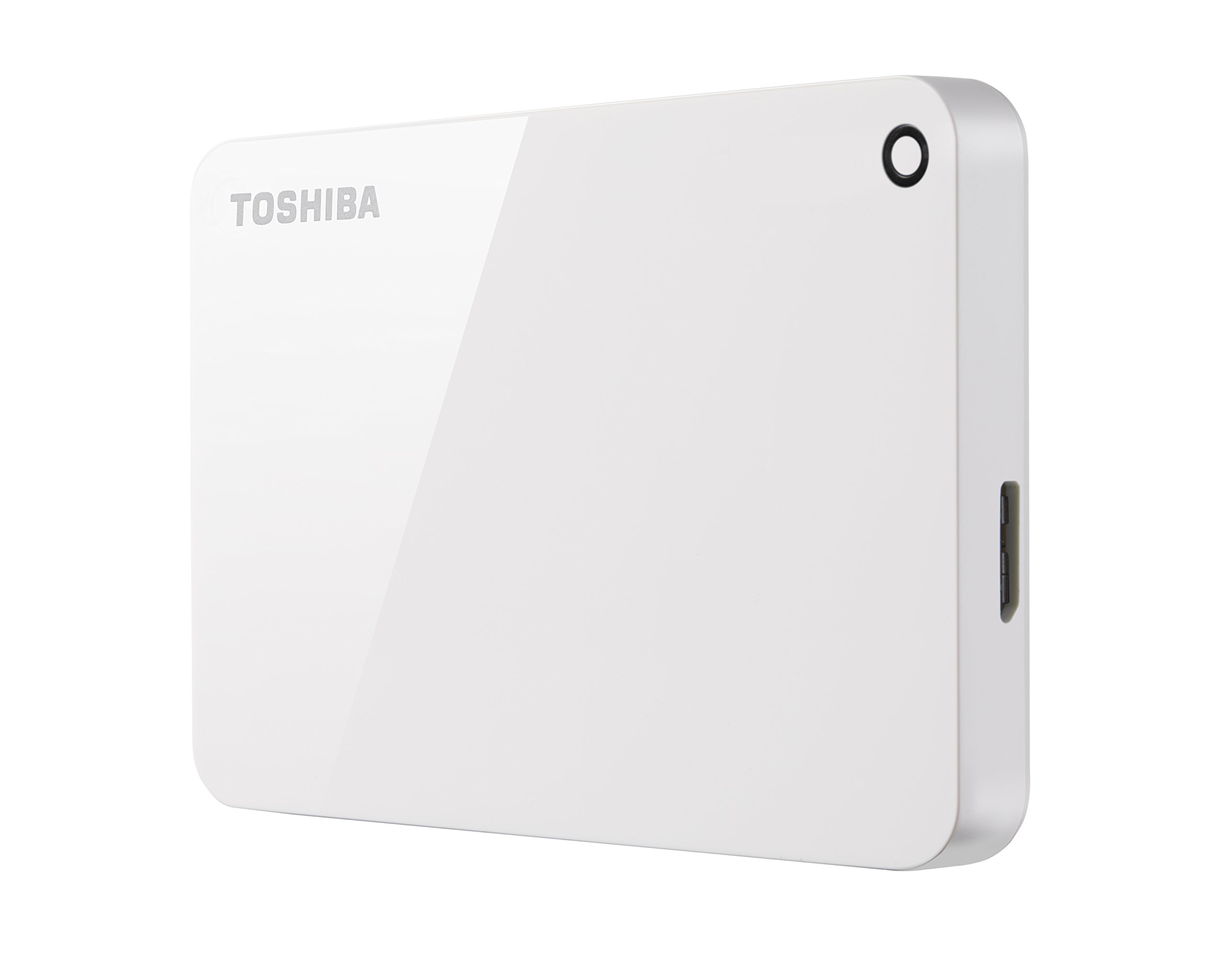 Toshiba Canvio Advance 2TB Portable External Hard Drive USB 3.0, White (HDTC920XW3AA) by Toshiba (Image #3)