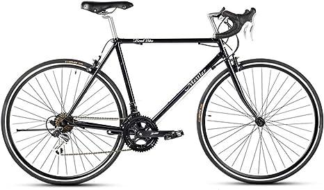 Aventura Bicicleta De Carretera, Bicicleta De Carretera 700C De Los Hombres con Shimano 14-Compartimiento De Desviador Y Dobles C Freno para Los Hombres Y De Los Hombres: Amazon.es: Deportes y aire libre