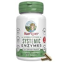 Serrapeptase Enzymes by MaryRuth's - Vegan Serrapeptase High Potency Sinus Pills...