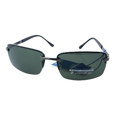 823e7c573283fd 1358 G15 Polarised Gunmetal, noir   gris unisexe HD lunettes de soleil  hydrophobe verres anti