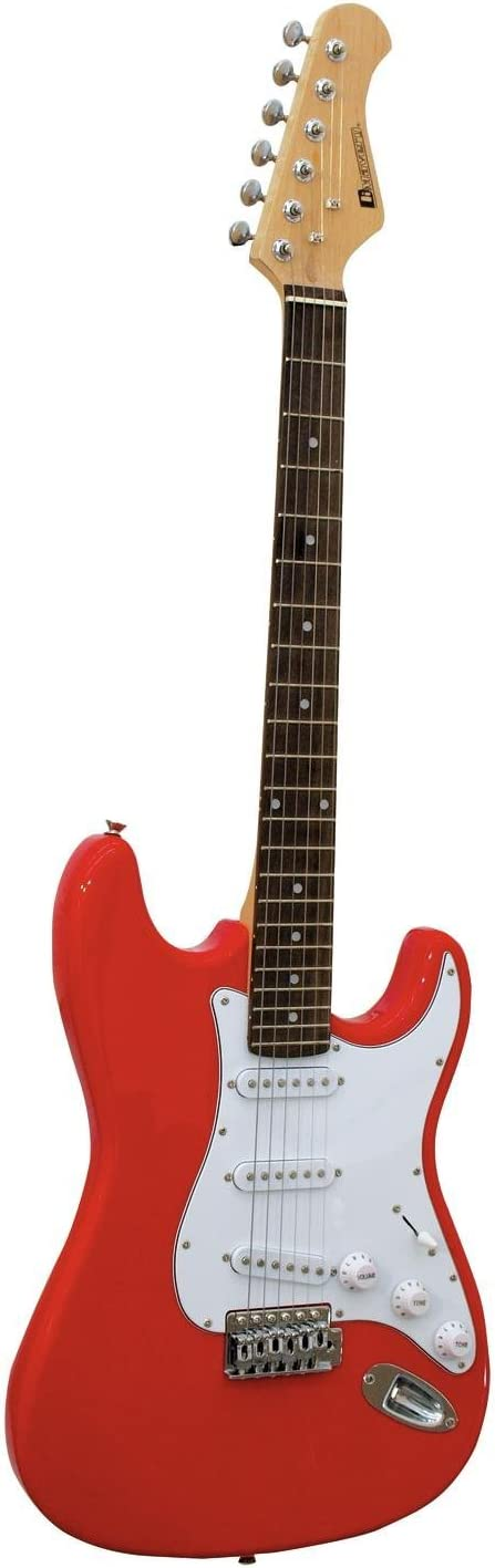 Guitarra eléctrica PATRON con accesorios, rojo - Guitarra para ...