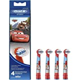 Oral-B Stages Power Cars - Replacement Brush Heads (1 pack = 4 pieces) Disney for kids!