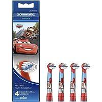 Braun Oral-B Stages Power Kids opzetborstels CARS 4-pack borstelkoppen kinderen EB10-4K