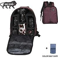 Brain Freezer J Lightweight Camera Backpack Bag for DSLR/SLR Camera Lens (Dark Purple)