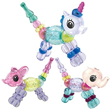 Magical Pets Bracelets Animal Bracelets Twist Bracelet for Kids//Girls