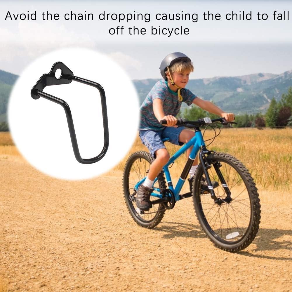Huahao Protector de Cambio Trasero de Bicicleta 4 Piezas Acero Hierro Protector de portaequipajes de Cambio de Bicicleta Protector de Cambio Trasero de Ciclismo Ajustable para Bicicleta de monta/ña
