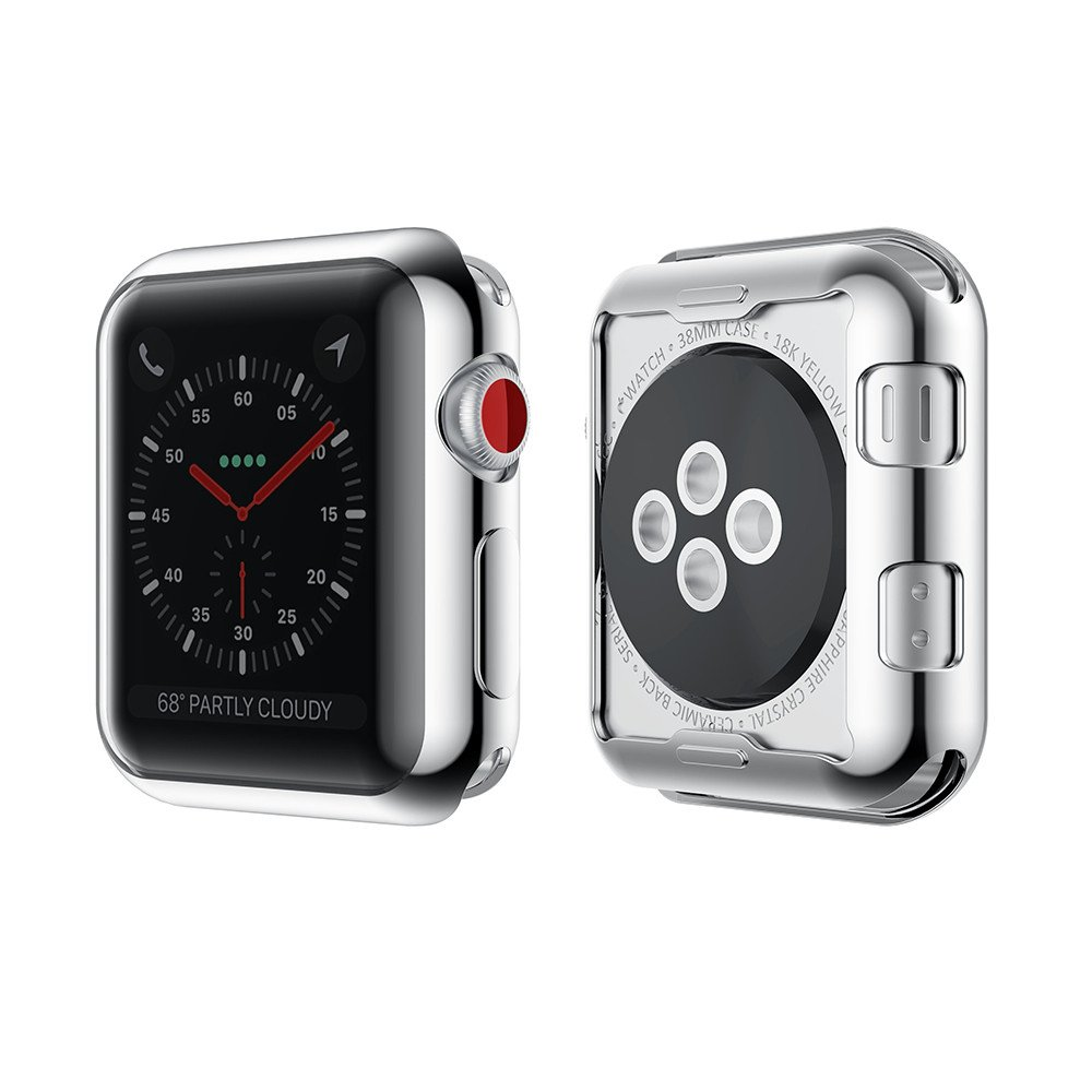 Notocity Apple Watch Series 3 Case Full Cover Soft TPU Protective Case for Apple Watch Series 3/Series 2 (4 Colors Pack, 38mm) by Notocity (Image #5)